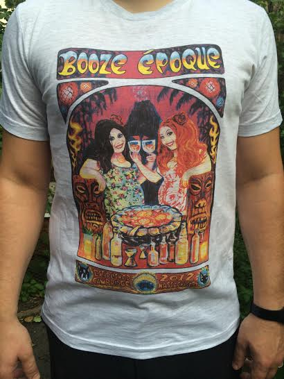 Booze Époque men's T